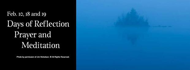Days of Reflection, Prayer and Meditation